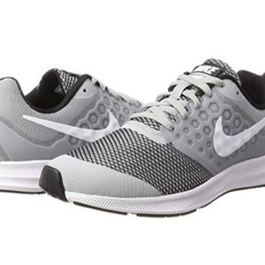 Grey Nike Downshifter Running Shoes 6.5 Youth